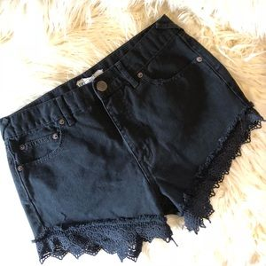 Free People Lacey Cutoff Short